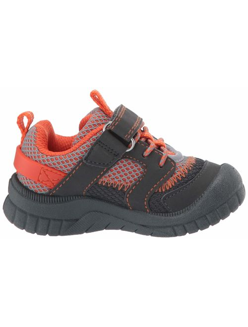 OshKosh B'Gosh Kids Lago Boy's Mesh Athletic Bumptoe Sneaker