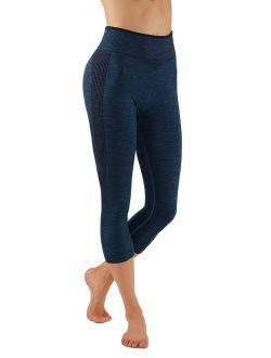 PRO FIT Yoga Pants Dry-Fit Compression Workout Leggings