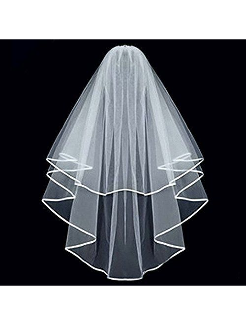 KLOUD City Bridal Wedding Veil with Comb