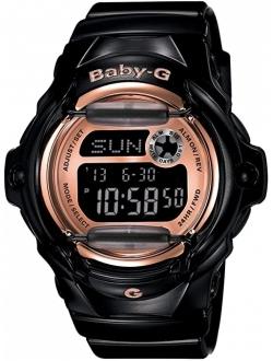 Women's Bg169g-1 Baby G Black Watch