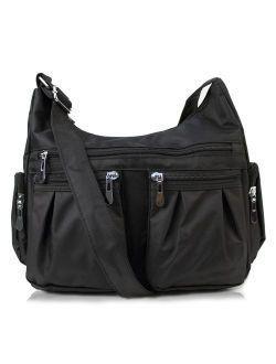 Multi Pocket Shoulder Bag H1407