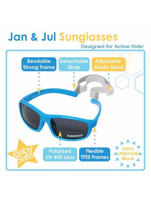 JAN & JUL Baby Toddler Kids UV-400 Polarized Sun-glasses