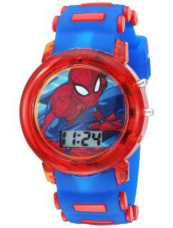 Boys' Quartz Watch With Plastic Strap, Blue, 20 (model: Spd4464)
