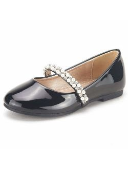 Girls Serena-100 Mary Jane Ballerina Flat Shoes