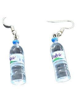 Ownsig Women Bohemian Water Bottle Pendant Earrings Drop Dangle Earrings Creative Unique