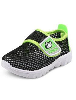 Baby's Boy's Girl's Water Shoes Lightweight Breathable Mesh Running Sneakers Sandals