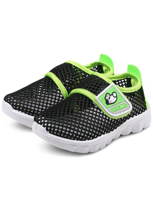 DADAWEN Baby's Boy's Girl's Water Shoes Lightweight Breathable Mesh Running Sneakers Sandals