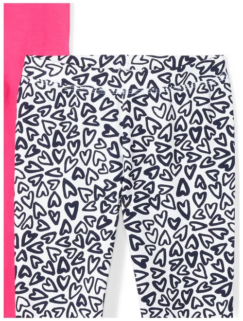 Amazon Brand - Spotted Zebra Girls' Toddler & Kids 5-Pack Leggings