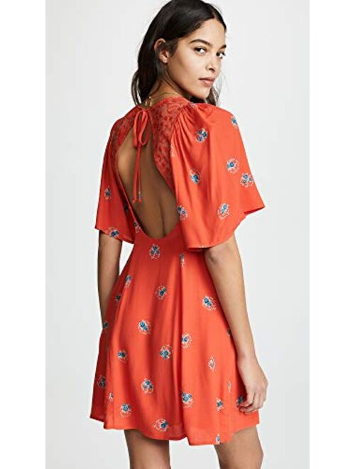 Free People Women's Mockingbird Mini Dress
