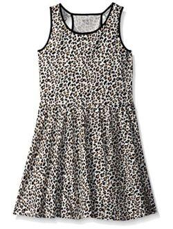 Girls' Sleeveless Casual Dress