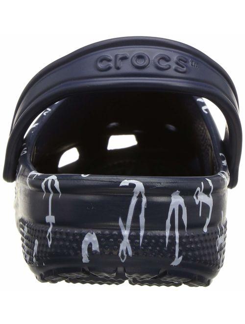 Crocs Classic Anchor Print Clog