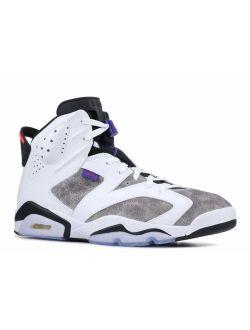 Jordan Men's Retro 6 Leather Basketball Shoes