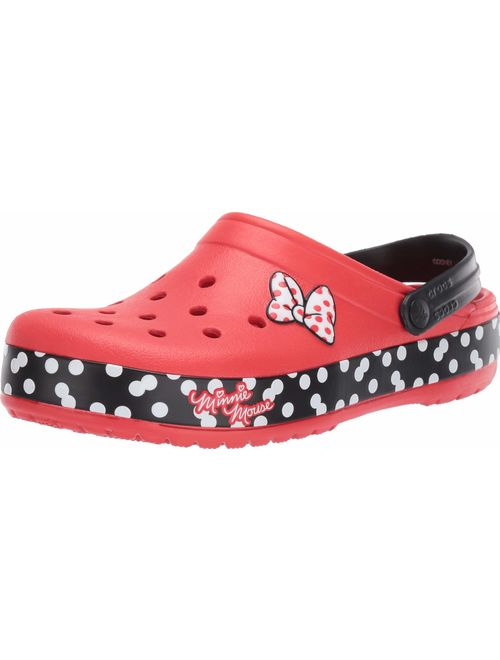 Crocs Women's Crocband Disney Minnie Mouse Dots Clog