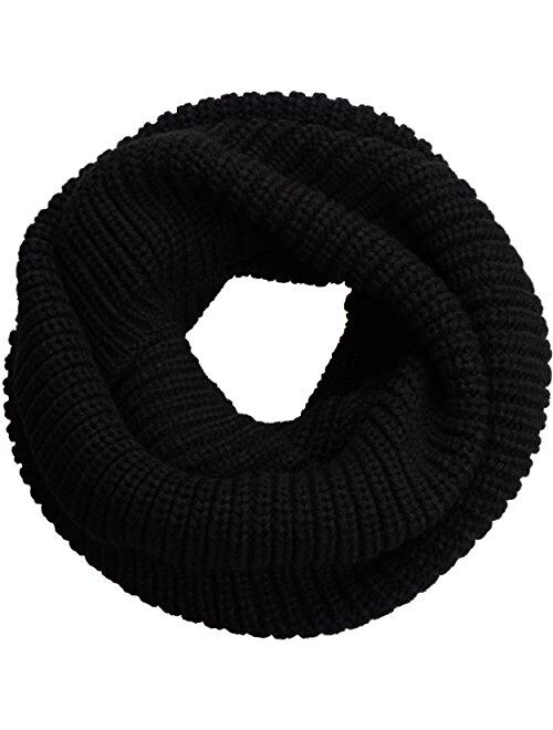 NEOSAN Womens Thick Ribbed Knit Winter Infinity Circle Loop Scarf