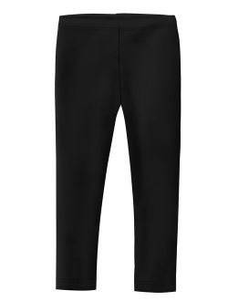 City Threads Girls' Leggings in 100% Cotton School Uniform Play - Made in USA!