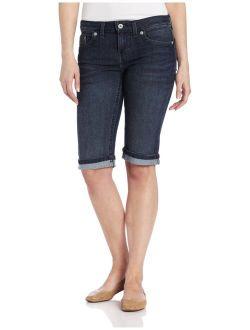 Women's Denim Bermuda Short