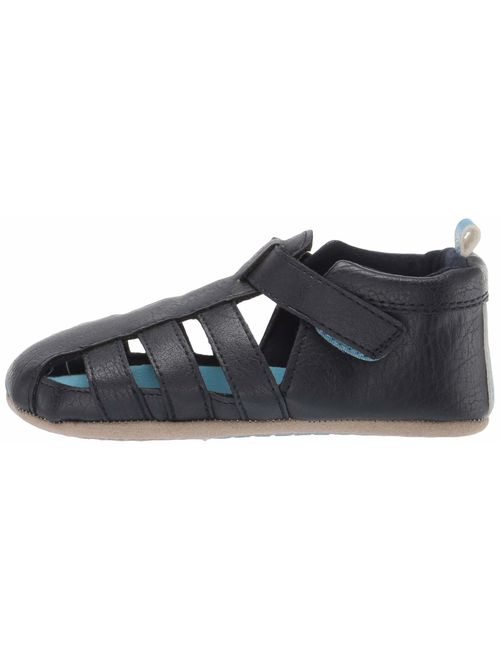 Ro + Me by Robeez Kids' Andrew Sandal Crib Shoe
