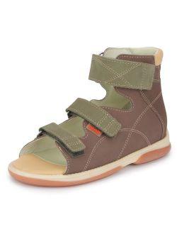 Memo Helios Corrective Orthopedic High-Top Ankle Support AFO Sandal (Little Kid/Big Kid)