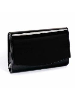 Tent Leather Wallets Fashion Clutch Purses,wallyn's Evening Bag Handbag Solid Color
