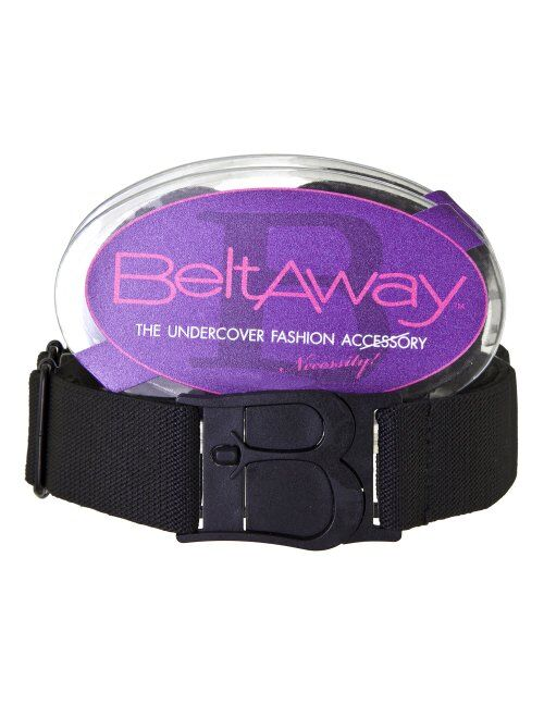 Flat Buckle No Show Adjustable Belt by Beltaway, The Virtually Invisible Belt