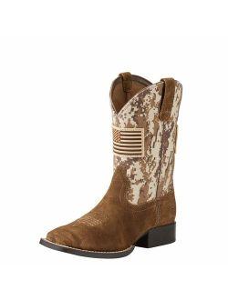 Kids' Patriot Western Cowboy Boot