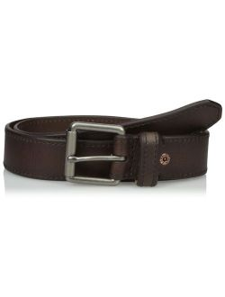 Men's Casual Belt - Dress For Men Jeans With Thick Strap And Buckle