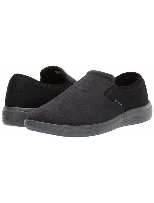 Crocs Men's Reviva Canvas Slip on Loafer