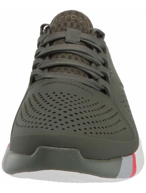 Crocs Men's LiteRide Colorblock Pacer Sneaker