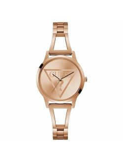 Womens Analogue Classic Quartz Watch With Stainless Steel Strap W1145l4