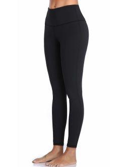 Oalka Women Yoga Pants Workout Running Leggings