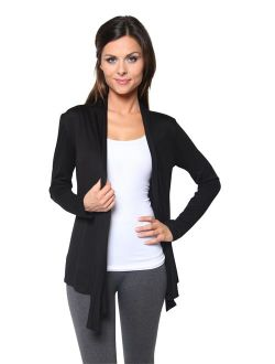 Free to Live Women's Cardigan - Light Weight Sweater with Open Front