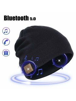 MORETEK Bluetooth Beanie Hat Gifts for Men Women