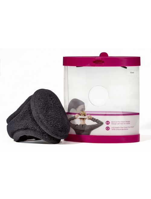 180s Women's Ear Warmer Adjustable Behind The Head Ultra Soft Faux fur Plush Fleece Ear Muff