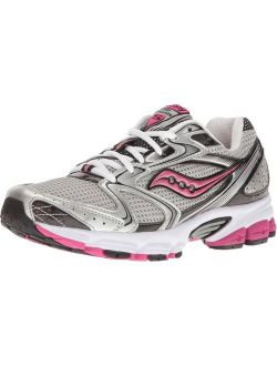 Women's Grid Stratos 5 Grey/silver/pink Manmade Mesh Athletic Running Shoes