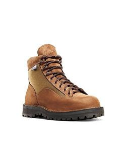 """Light Ii 6"""" Brown Nubuck Leather (33000) Outdoor Boots Waterproof   Downhill Braking And Side-hill Traction"""