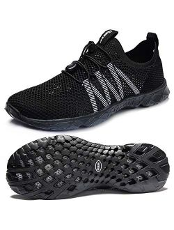 SUOKENI Women's Quick Drying Slip On Water Shoes for Beach or Water Sports
