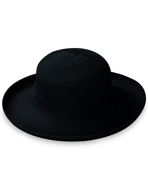 Wallaroo Hat Company Women's Petite Victoria Sun Hat - Ultra-Lightweight, Broad Brim, Petite Style, Designed in Australia