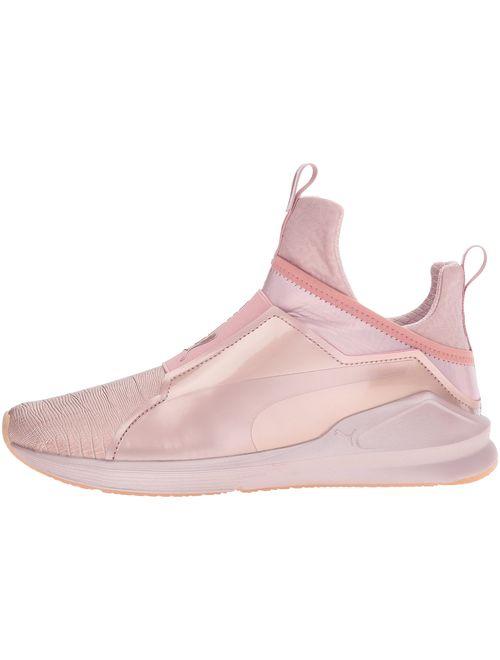 PUMA Women's Fierce Metallic Cross-Trainer Shoe
