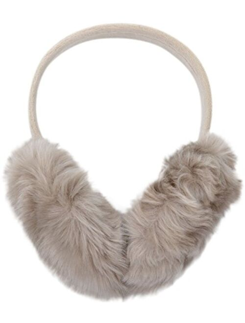 Magic Pieces Women's Faux Cony Hair Winter Ear Muff in 4 Colors