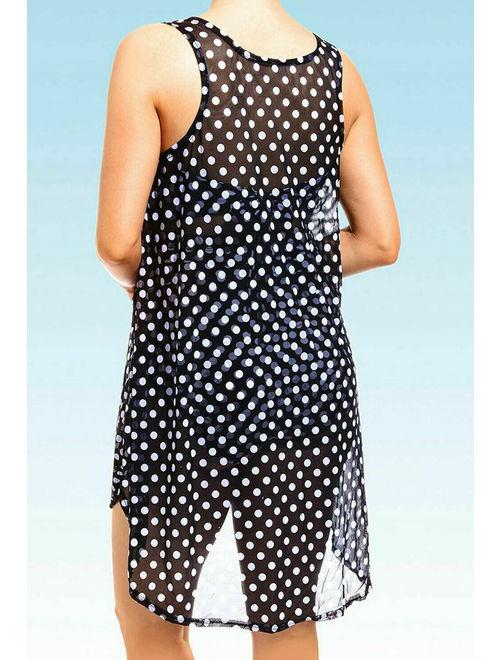 US Women's Beach Cover Up Kaftan Sarong Dress Swimwear Bikini Swimsuit Plus Size
