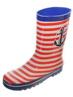 "boys' ""van brunt"" rain boots (youth sizes 13 - 4)"