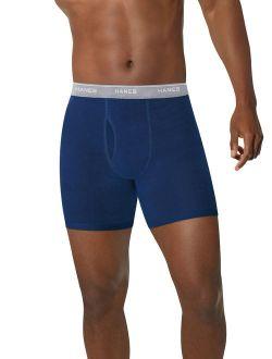 Men's ComfortSoft Comfort Flex Waistband Boxer Briefs, 4 Pack