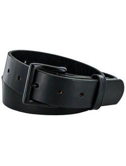 Hanks Everyday - No Break Thick Leather Belt - Mens Heavy Duty Belts- USA Made -100 Year Warranty