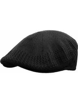 KBETHOS Classic Mesh Newsboy Ivy Cap Hat (21 Colors / 4 Sizes)