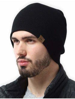 Winter Beanie Knit Hats for Men & Women - Warm & Soft Toboggan Cap
