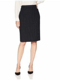 Women's Contrast Stitch Sweater Skirt