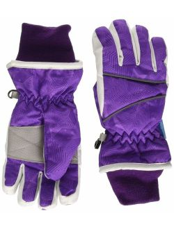 Lullaby Kids Cotton Kid's Windproof Waterproof Snow Ski Gloves