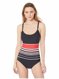 Women's Over The Shoulder One Piece With Removable Soft Cups