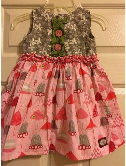 Persnickety Umbrella Dress Girls Size 4