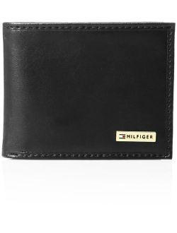 Men's Leather Passcase Wallet